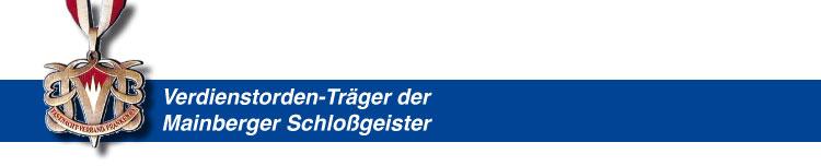 Verdienstorden der Mainberger Schlossgeister